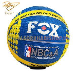 توپ بسکتبال لاستیکی فوکس Fox
