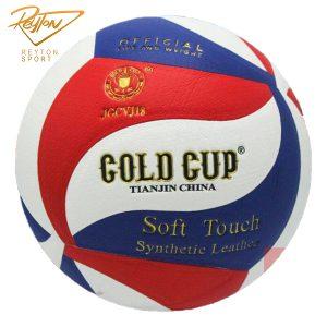 توپ والیبال گلد کاپ gold cup طرح مولتن