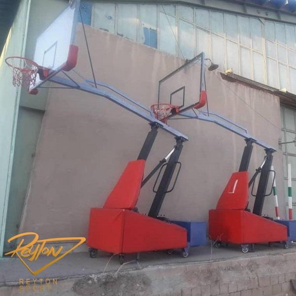 پایه بسکتبال هیدرولیک متحرک