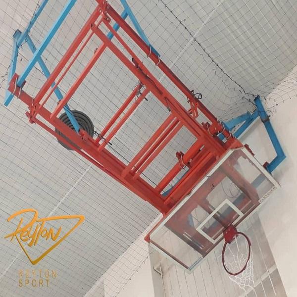 پایه بسکتبال سقفی تاشو