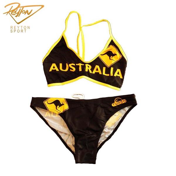 مایو ساحلی زنانه توربو Australia Sign   462