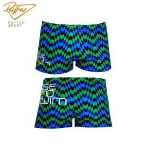 مایو شنا مردانه توربو Boxer Full Printed Rise & Swim | 3070