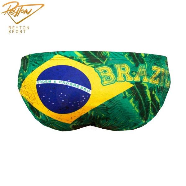 مایو واترپلو مردانه توربو Brasil #R | 2683