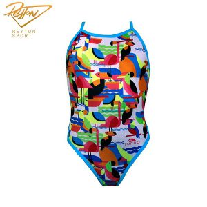 مایو شنا زنانه توربو Delta Thin Strap | 2649