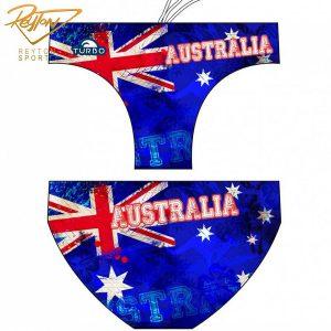 مایو واترپلو مردانه توربو Australia Vintage   2244