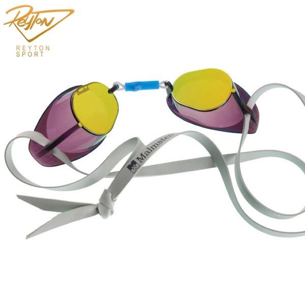 عینک شنا مسابقه ای سوئدی (بدون واشر) Metalic | 758