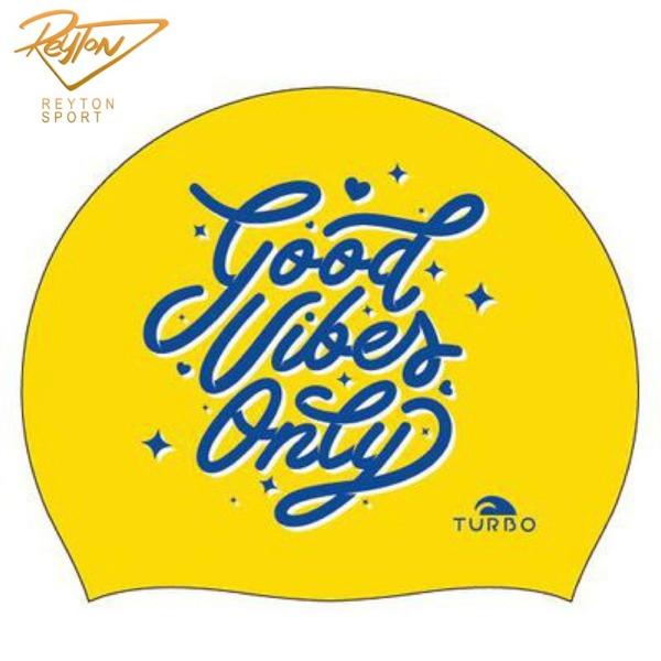 کلاه شنا توربو GOOD VIBES | 3439