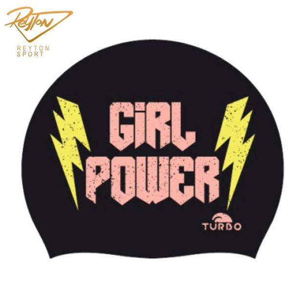 کلاه شنا توربو GIRL POWER | 3452
