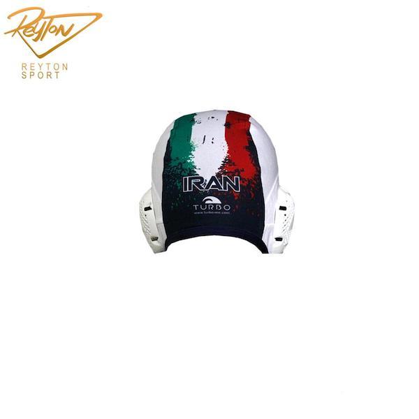 کلاه واترپلو توربو WP Iran White | 2780