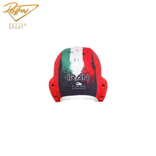کلاه واترپلو توربو WP Iran Red   2779