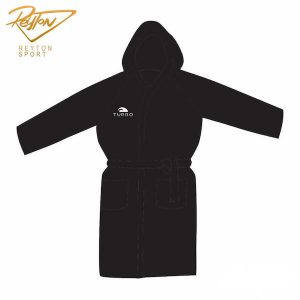 حوله Bathrobe Microfiber Black - 98110 | 3095