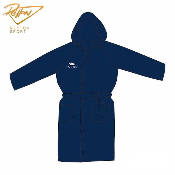 حوله Bathrobe Microfiber Navy- 98110 | 3304