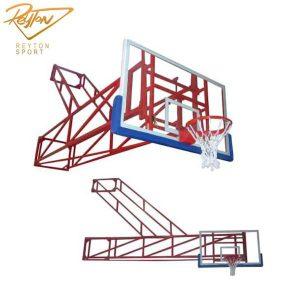دستگاه بسکتبال دیواری تاشو بلند