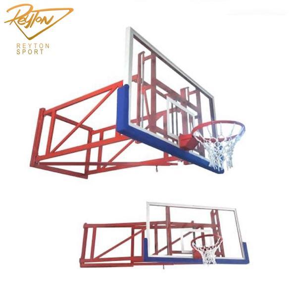 دستگاه بسکتبال دیواری تاشو کوتاه