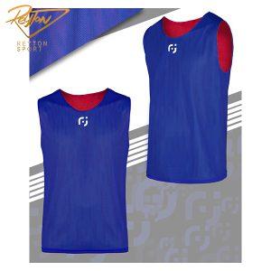 کاور ورزشی 2 رو تور آبی-قرمز