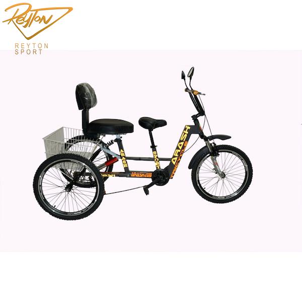 سه چرخه آرش مدل نیایش صندلی کودک دو نفره ۲۰-۲۴