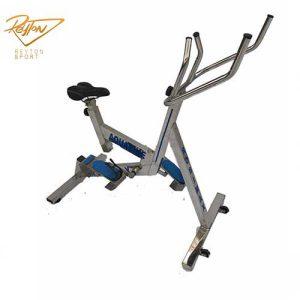 دوچرخه-ثابت-آبی-بلبرینگی-برند-روبیمکث